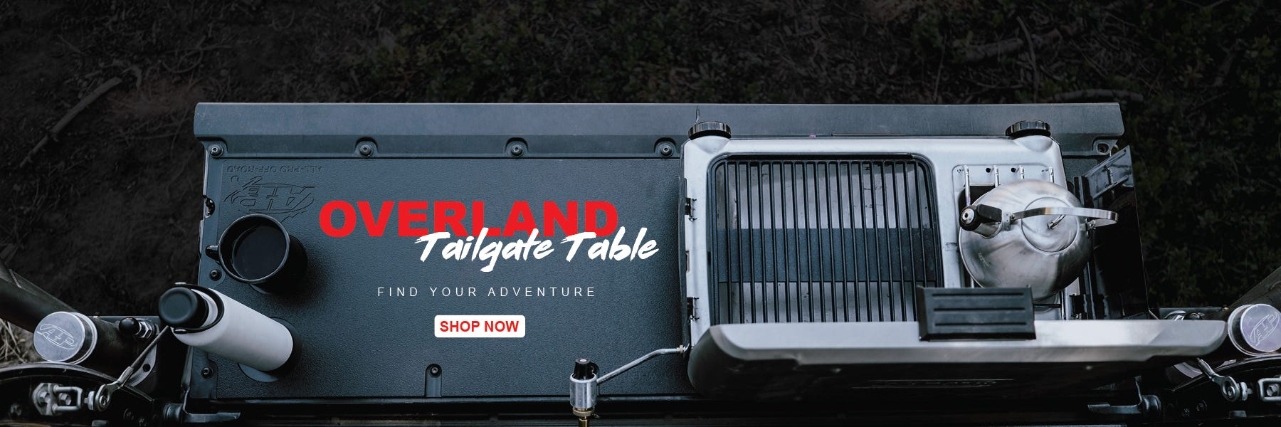 All-Pro Off-Road Toyota Tacoma Overland Tailgate Table